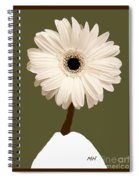 Snow White Gerber Spiral Notebook