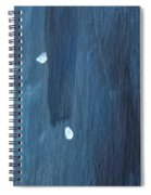 Snowy Night #2 Spiral Notebook