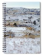 Snowy Slope County Spiral Notebook