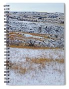 Snowy Slope County Territory Spiral Notebook