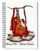 Soft Guitar - 3 Spiral Notebook