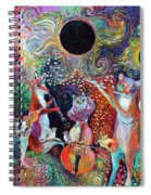 Solar Eclipse Spiral Notebook