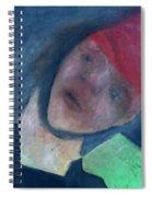 Soldier In Battle Spiral Notebook