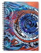 Solidarity On Copper And Teal Spiral Notebook