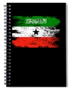 Somaliland Shirt Gift Country Flag Patriotic Travel Africa Light Spiral Notebook
