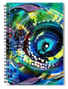 Sonata Toward Blue Spiral Notebook