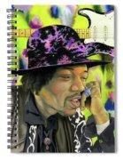 Sonic Exploration - A Jimi Hendrix Portrait Spiral Notebook