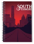 South Congress Avenue Spiral Notebook