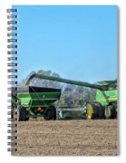 Soybean Harvest Max Spiral Notebook
