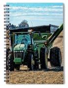 Soybean Hopper Spiral Notebook