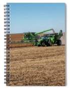 Soybeans Harvest Spiral Notebook