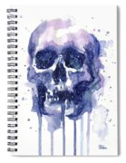 Space Skull Spiral Notebook