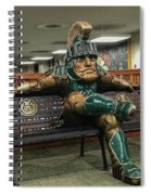 Sparty At Rest Spiral Notebook