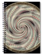 Spinning A Design For Decor And Clothing Spiral Notebook