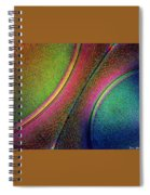 Splitting The Difference Spiral Notebook