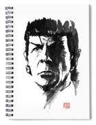 Spock Spiral Notebook