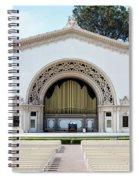 Spreckles Organ Pavillion Spiral Notebook