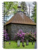 Spring At The Crispell Memorial French Church Spiral Notebook