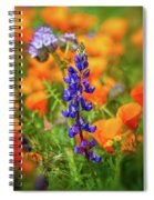 Spring Delight - Superbloom 2019 Spiral Notebook
