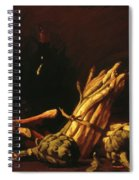 Spring Harvest Also Known As Still Life With Asparagus 1887 Spiral Notebook