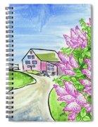Spring Lilac Spiral Notebook