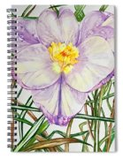 Spring Macro Tangle Spiral Notebook