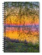 Spring Morning At 5.43 Spiral Notebook