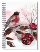 Spring Rests In The Heart Of Winter Spiral Notebook