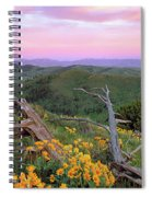 Spring Sunset Spiral Notebook