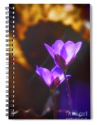 Spring Wild Flower 2 Spiral Notebook