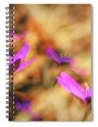 Spring Wild Flower 4 Spiral Notebook