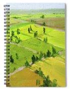 Springtime Horizon Spiral Notebook
