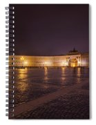 St. Petersburg Palace Square Spiral Notebook