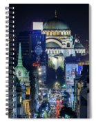 St. Sava Temple In Belgrade Spiral Notebook