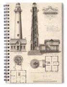 St. Simons Island Light Spiral Notebook