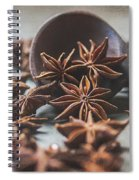 Star Anise 4825 By Tl Wilson Photography  Spiral Notebook