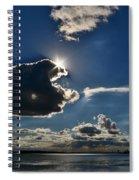 Star Over The Upper Niagara River Spiral Notebook