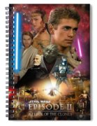 Star Wars Episode II Spiral Notebook