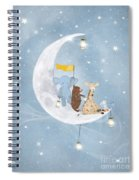 Starlight Wishes With You  Spiral Notebook