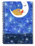 Stars On Earth Spiral Notebook