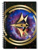 Starship Meridian Spiral Notebook