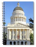 State Of California Capitol Building 7d11736 Spiral Notebook