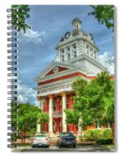 Stately Elegance Morgan County Court House Madison Georgia Art Spiral Notebook