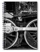 Steam Locomotive Detail Spiral Notebook