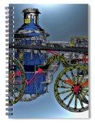 Steamer No 14 Spiral Notebook