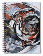 Steampunk Metallic Fish Spiral Notebook