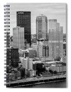 Steel City Skyline Spiral Notebook