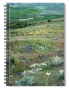 Steptoe Butte View 9276 Spiral Notebook
