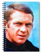 Steve Mcqueen, Portrait Spiral Notebook