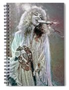 Stevie Nicks Spiral Notebook